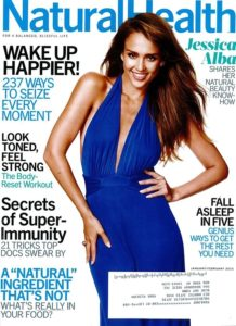 Natural Health Jan Feb 2015 Cover