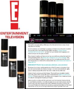 E! Online, April 2014 - Online article featuring ORGO Protect & Perfect CC Cream
